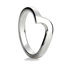 Shaped Wedding Rings Wedding Rings Direct