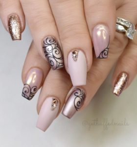 These Elegant Nails Also Work Really Well For The Mother Of Bride