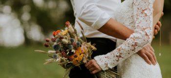 autumnal wedding