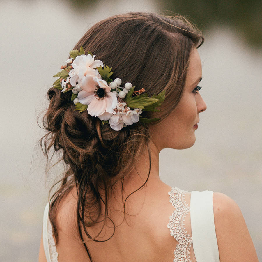 Floral Wedding Hair Comb By Britten: 10 Gorgeous Wedding Headpieces